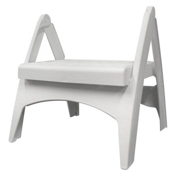 Stupendous Adams 8530 48 3730 Quik Fold 13H X 12 3W Polypropylene White Step Stool Forskolin Free Trial Chair Design Images Forskolin Free Trialorg