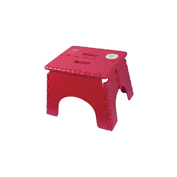B/&R Plastics 101-6BURG Burgandy EZ Foldz Step Stool