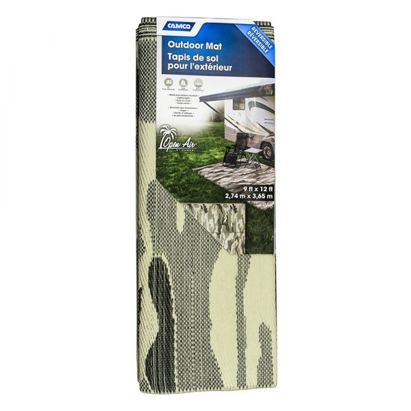 Camco Reversible Bilingual Outdoor Mat Camperid Com