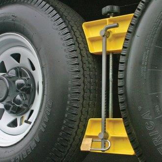 Trailer Wheel Chocks >> Wheel Chocks Locks Travel Trailers Rv Truck Camperid Com