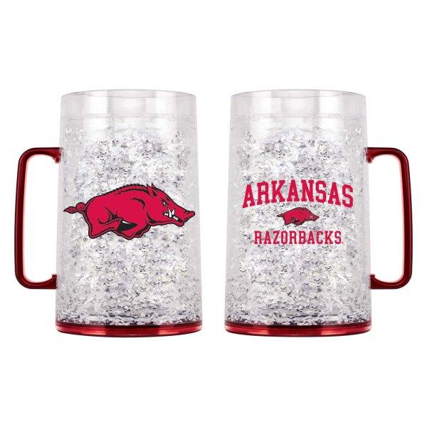 Arkansas Razorbacks Crystal Freezer Mug