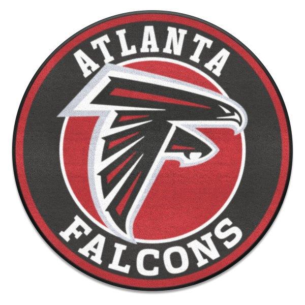 Fanmats 17950 Nfl Atlanta Falcons Round Nylon Area Rug With Falcon Logo Camperid Com