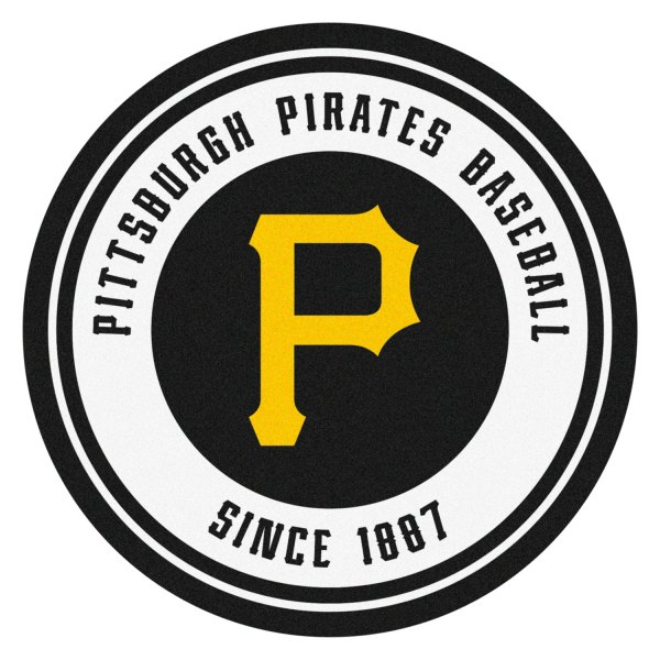 Fanmats 12165 MLB Pittsburgh Pirates Vinyl Grill Mat