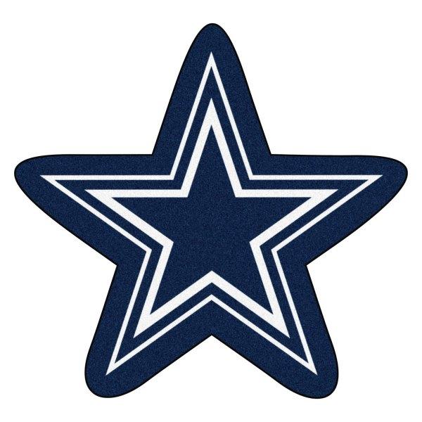 Fanmats 20967 Dallas Cowboys Logo On Mascot Mat Camperid Com