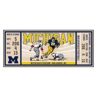 FANMATS 19520 Michigan Rink Runner Team Color 30x72