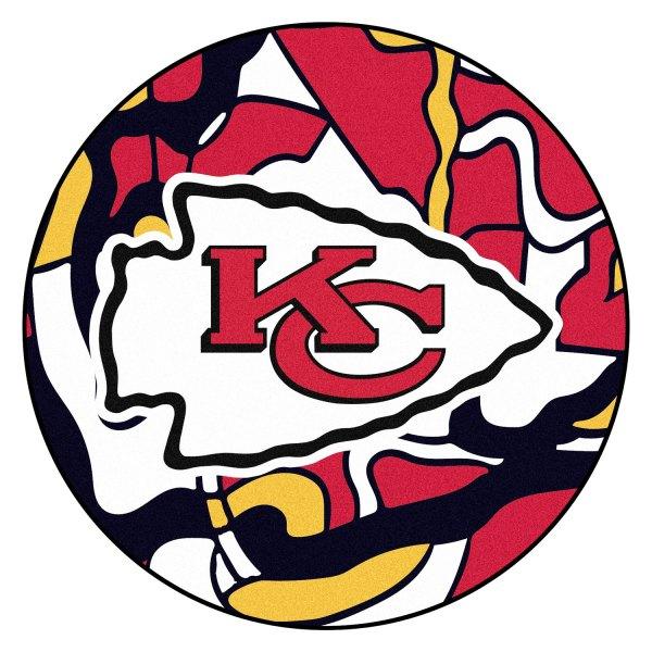 "FanMats® 23294 - ""X-FIT"" NFL Kansas City Chiefs Round ..."
