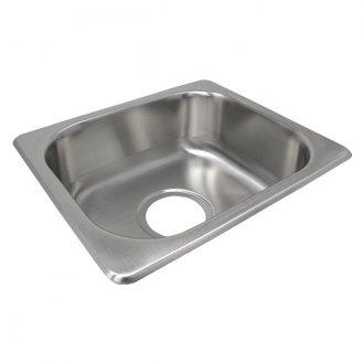 Lasalle Bristol Utopia Stainless Steel Drop In Rectangular Single Bowl Kitchen Sink Camperid Com