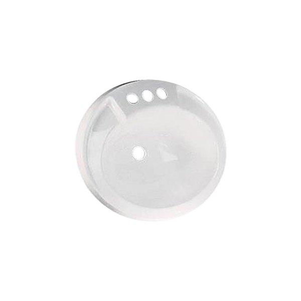 LASALLE BRIS 16370PWA White Lavatory Sink
