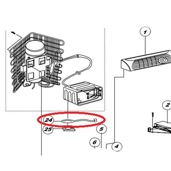 Norcold® 605505420 - Evaporator Thermistor - CAMPERiD.comCAMPERiD.com