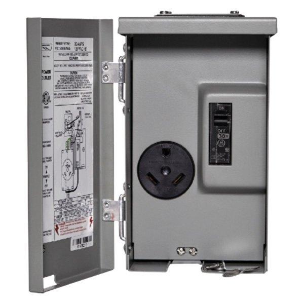 30 Amp Outlet >> Parallax Pg U013c 30 Amp 120 Vac Power Outlet