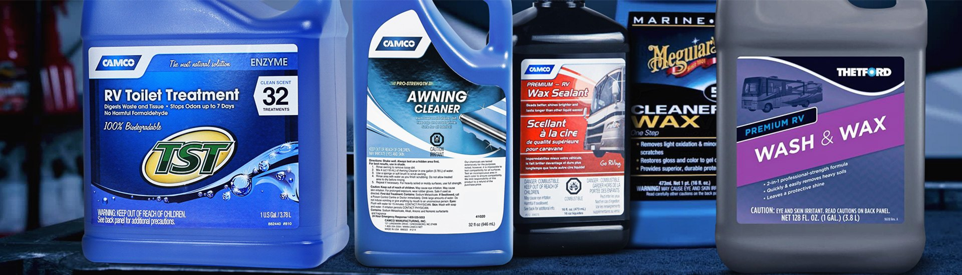 Rv Cleaners Chemicals Wash Waxes Degreasers Lubes Camperid Com